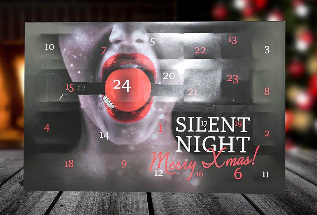 Orion bietet den Silent Night Fetisch Adventskalender an