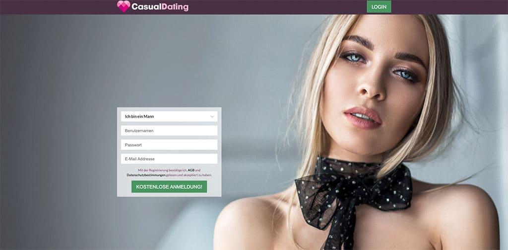 Hohe Chancen hat man im kostenlosen Casual Dating Portal von CasualDating.com